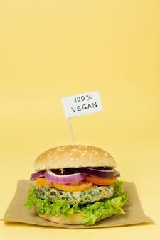 100% veganistische burger