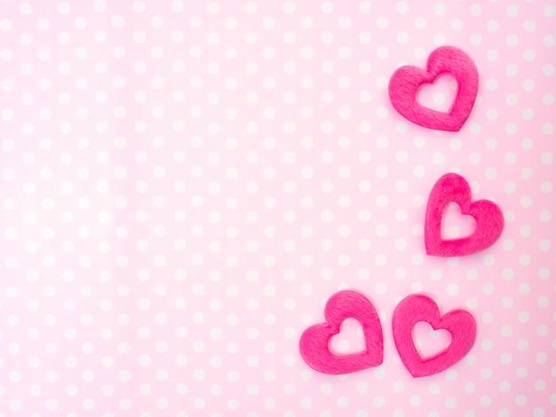 14 valentine's day pink hearts