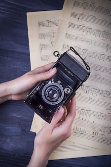 17 november 2017 krakau polen vintage camera zeiss icon redactie