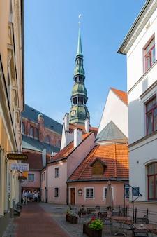 2014, juli: oude centrum van riga, letland