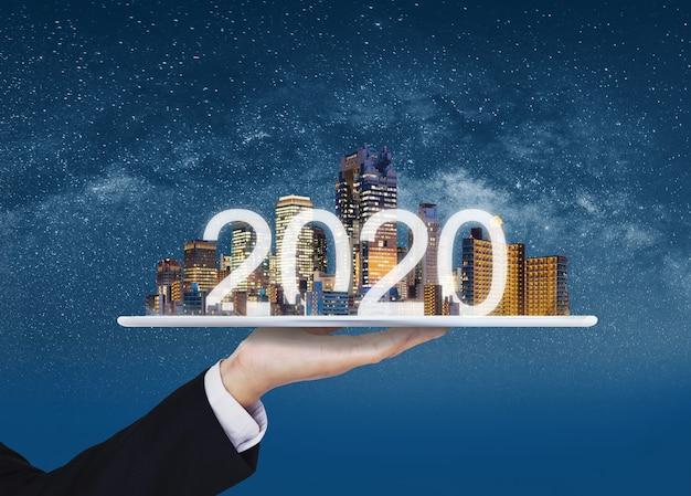 2020 augmented reality-technologie, nieuwe technologie en nieuwe trendmatige bedrijfsinvesteringen
