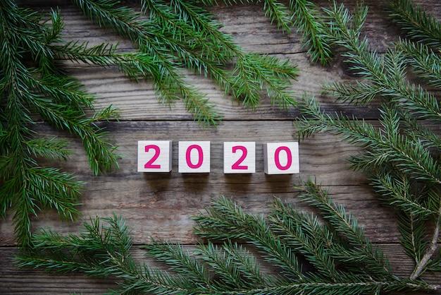 2020 nieuwjaarsachtergrond