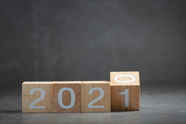 2021 nummer belettering concept