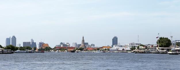 24 augustus 2020, bangkok.thailand.panorama landschap van thailand, bangkok