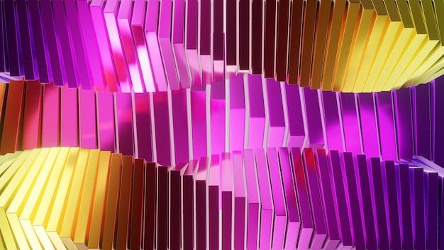 3d abstract shine en kleurrijk ontwerp