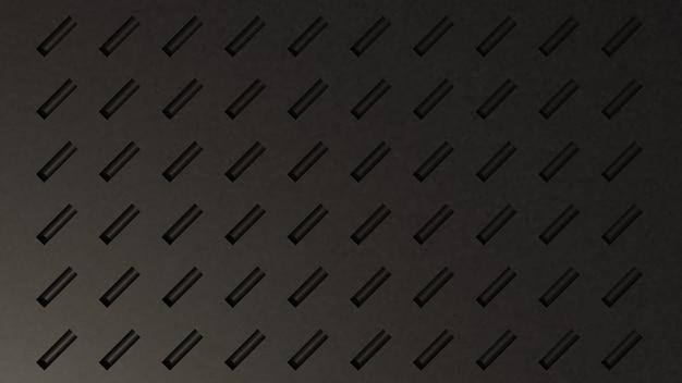 3d abstracte elegante donkere wallpaper achtergrond Premium Foto