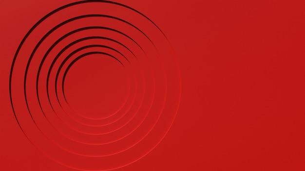 3d abstracte elegante rode wallpaper achtergrond