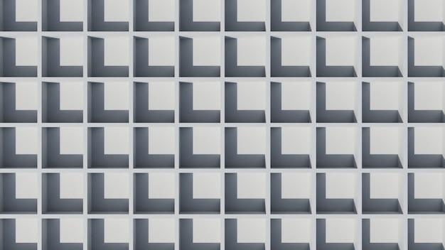 3d abstracte elegante witte behangachtergrond
