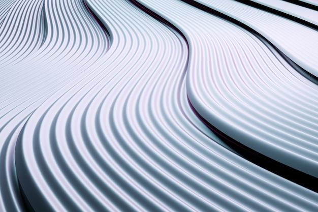 3d-afbeelding geometrische strepen