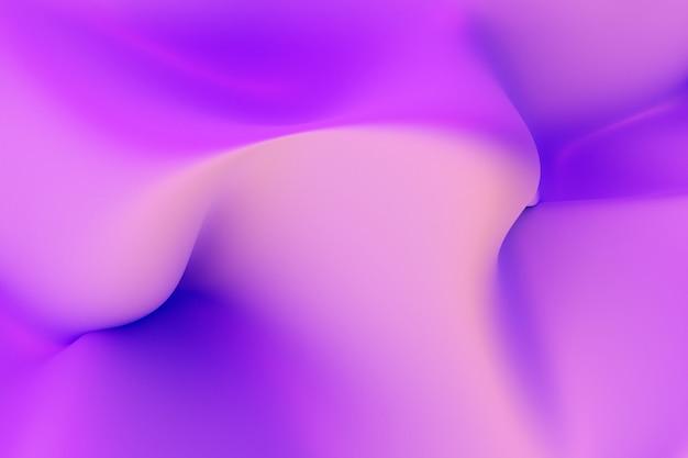 3d-afbeelding rijen neon textiel. geklets op een roze en blauwe achtergrond, patroon. geometrische achtergrond, geweven patroon.