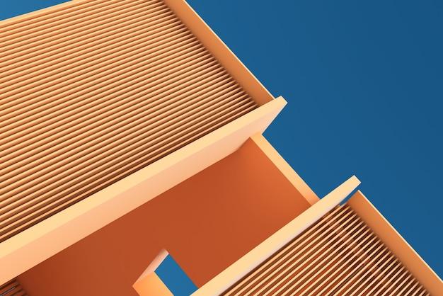 3d-architectuur, traliewerk