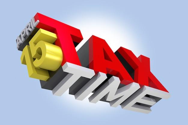 3d belastingtijd tekst. 3d-rendering