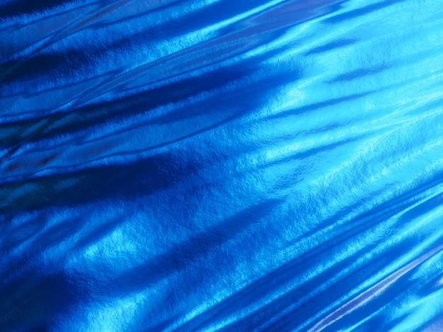 3d blauwe abstracte golven