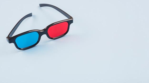 3d-bril en copyspace
