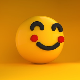 3d emoji blij gevoel
