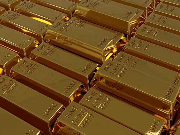 3d fijn goud 1000g