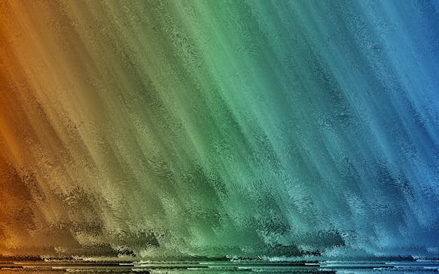 3d geef terug, vat creatief kleurrijk samen