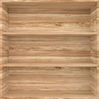 3d houten planken voor vitrine