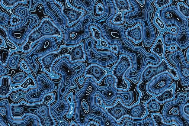 3d illustratie blauw waterpatroon, textuur. abstracte chaotische popart water oppervlaktepatroon. geweldig voor zomerse achtergrond