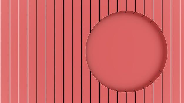 3d render abstract helder sappig achtergrond behang studio licht verlichting rood