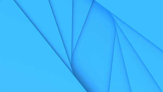 3d render abstracte blauwe achtergrond