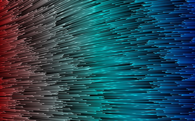 3d render, abstracte creatieve kleurrijke, ronde lijnen