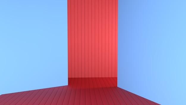 3d render abstracte minimalistische eenvoudige achtergrond