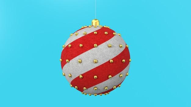 3d render kerstboom speelgoed