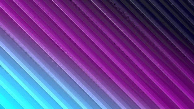 3d render lineaire achtergrond met kleurovergang