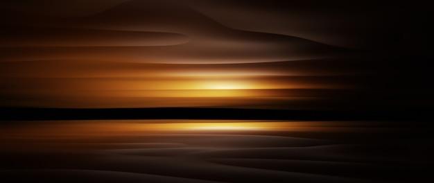 3d render van donkere en bruine doek. iriserende holografische folie. abstracte kunst mode achtergrond.