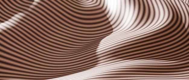 3d render van witte en zwarte doek. iriserende holografische folie. abstracte kunst mode achtergrond.