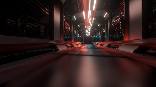 3d-rendering, abstracte achtergrond