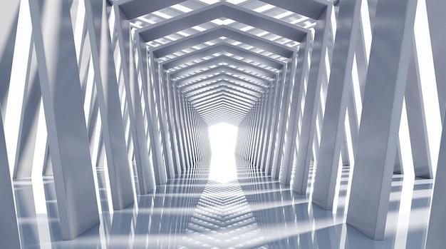 3d-rendering gang interieurontwerp