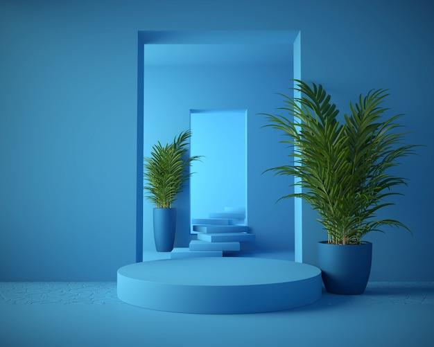 3d-rendering geometrische scène
