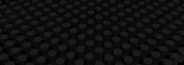 3d-rendering groep cilinder, 3d mockup achtergrond.