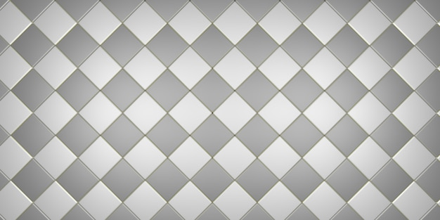 3d-rendering illustratie vol frame patroon als achtergrond