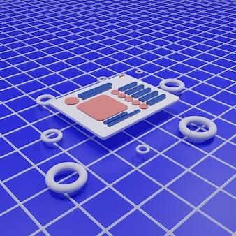 3d-rendering illustratie
