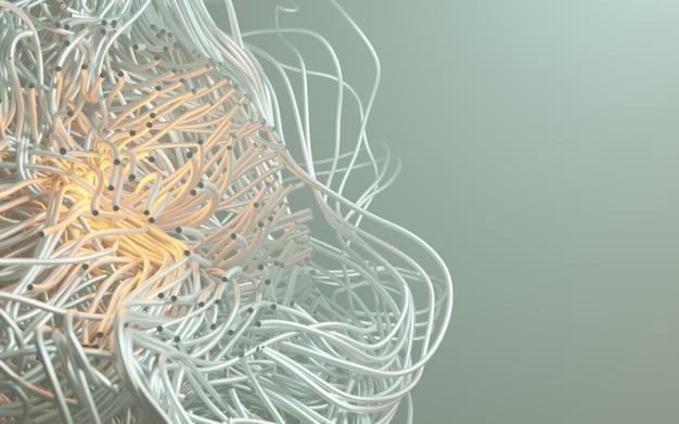 3d-rendering kabel