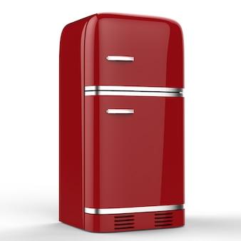 3d-rendering retro design koelkast