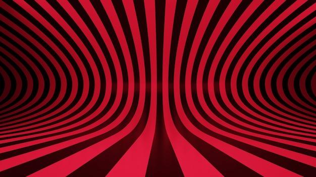 3d-rendering rode achtergrond abstracte patroon muur vloer lijn voorraad