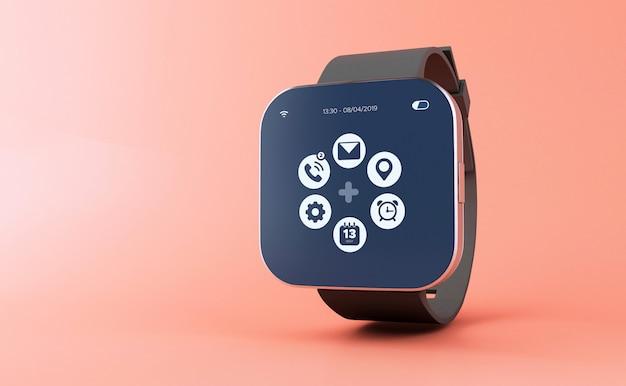 3d smart horloge