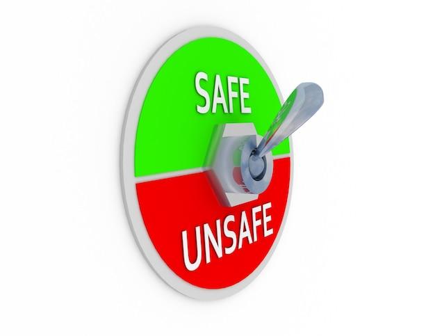 3d veilige onveilige switcher