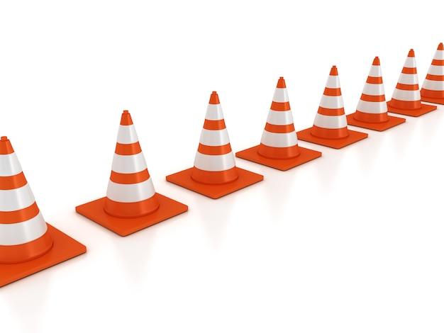 3d verkeerskegels