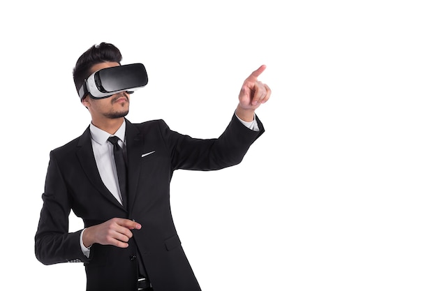 3d vision-technologie, virtual reality-bril