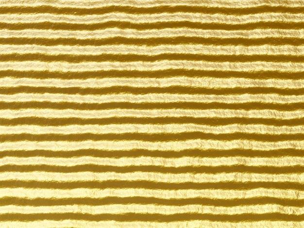 3d-weergave. abstracte golfde gouden achtergrond.