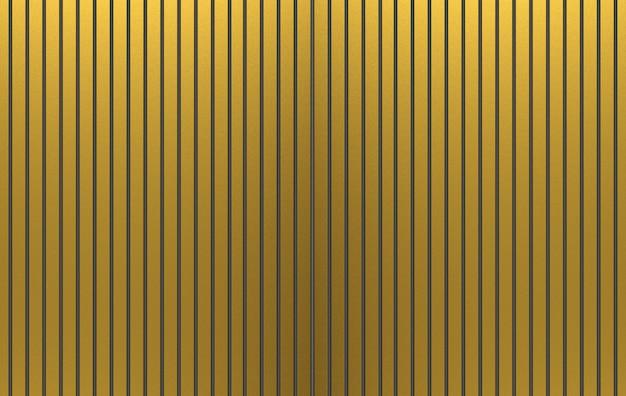 3d-weergave luxe goudstaven patroon muur textuur achtergrond.
