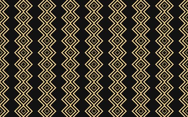 3d-weergave. moderne luxe naadloze gouden vierkant rasterpatroon muur ontwerp achtergrond.