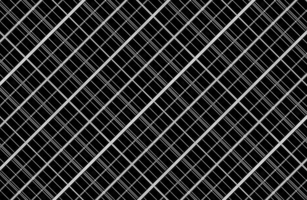 3d-weergave naadloos modern vierkant rasterpatroon