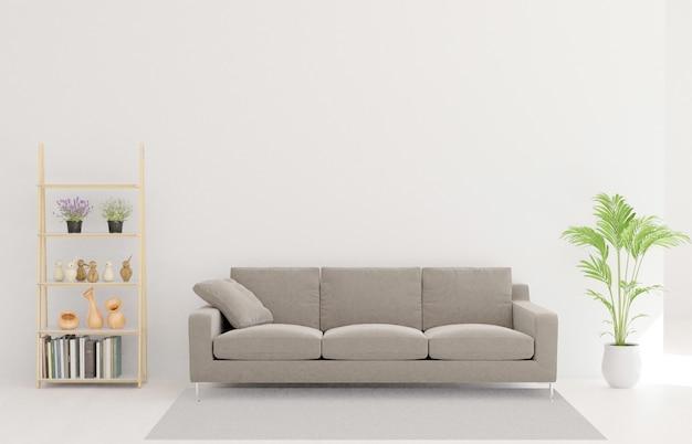 3d-weergave van de woonkamer