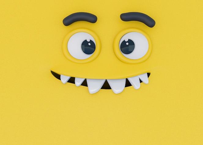 3d-weergave van emoties
